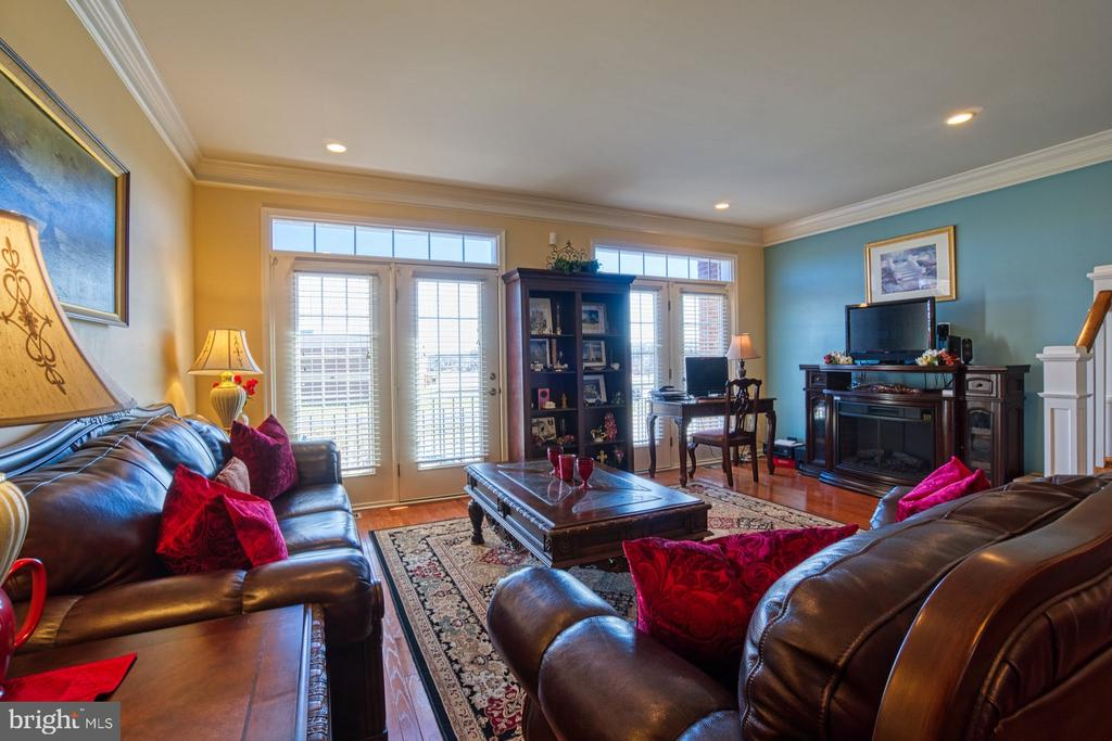 French Doors Can be Opened for Fresh Air - 23399 CARTERS MEADOW TER, ASHBURN