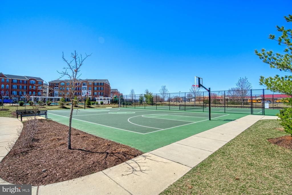 Fabulous Outdoor Basketball Courts - 23399 CARTERS MEADOW TER, ASHBURN