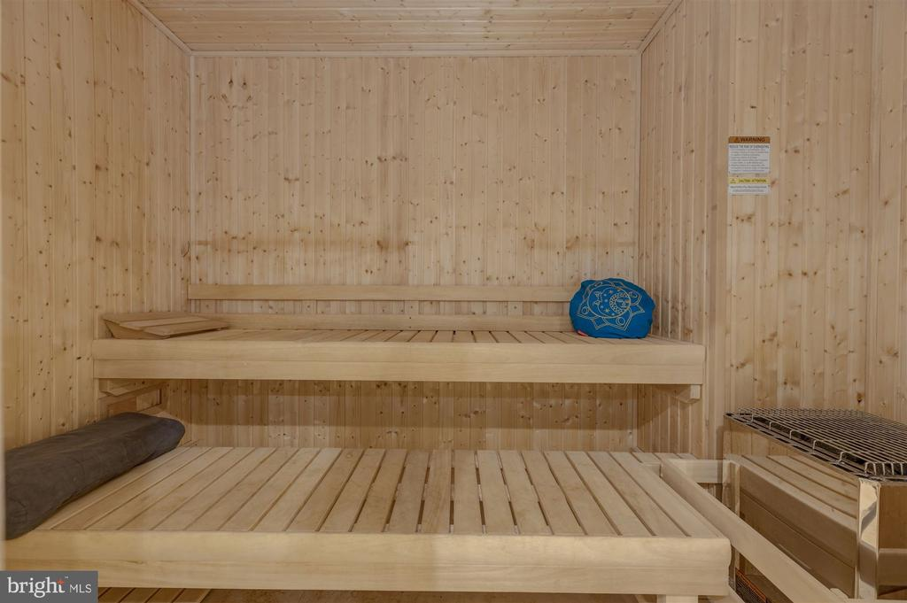 oversized built-in sauna - 7720-A GEORGETOWN PIKE, MCLEAN