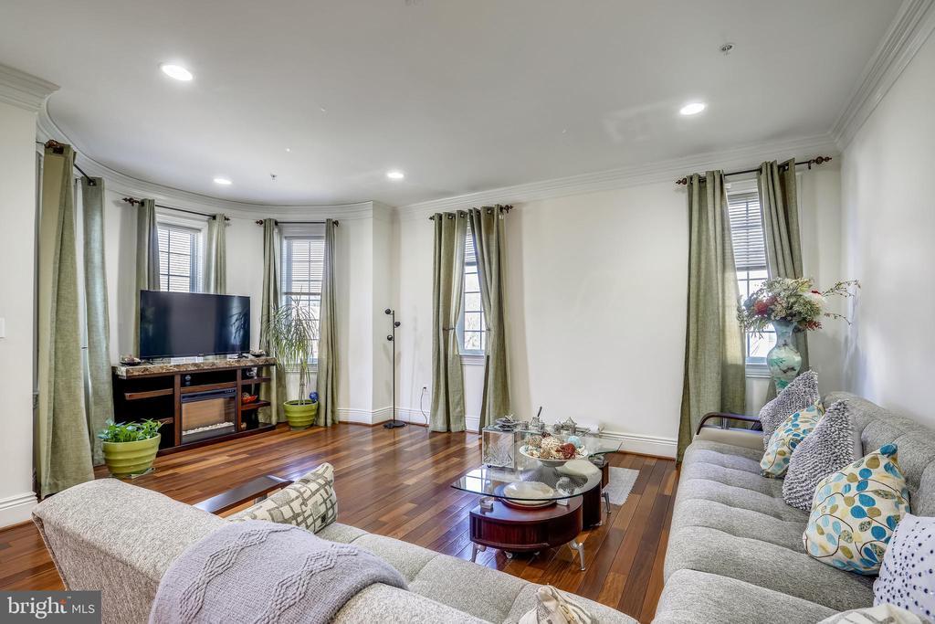 Living Room - 10201 WOODMOOR CIR, SILVER SPRING
