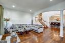 Main Level Living Room - 10201 WOODMOOR CIR, SILVER SPRING