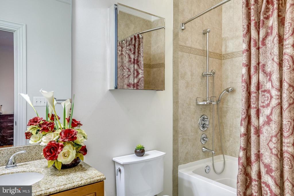 Upper Level Bath - 10201 WOODMOOR CIR, SILVER SPRING
