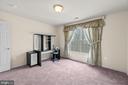Bedroom 2 with large window - 39 BETHANY WAY, FREDERICKSBURG
