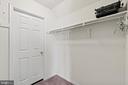 Large Walk-in Closet - 39 BETHANY WAY, FREDERICKSBURG