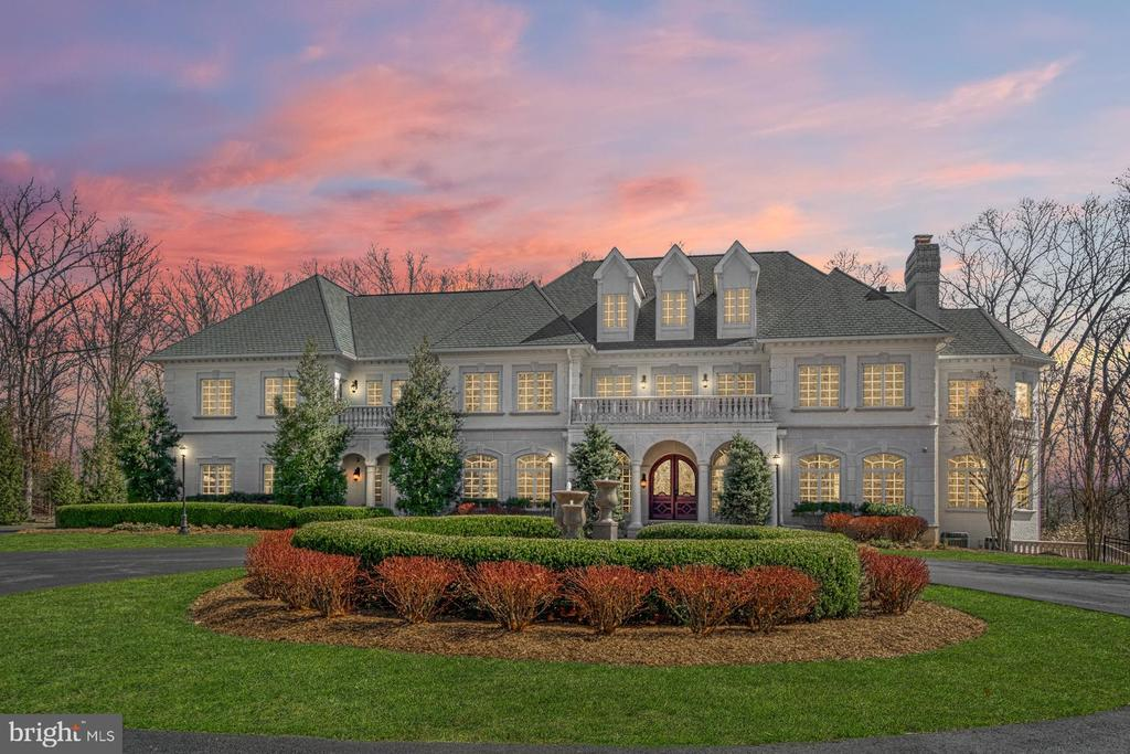 Dazzling French Eclectic Estate - 18688 RIVERLOOK CT, LEESBURG