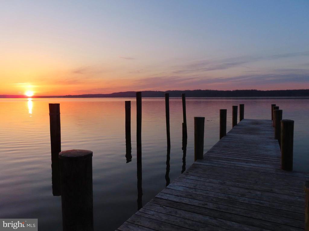 Sunrise. Just beautiful! - 3903 BELLE RIVE TER, ALEXANDRIA