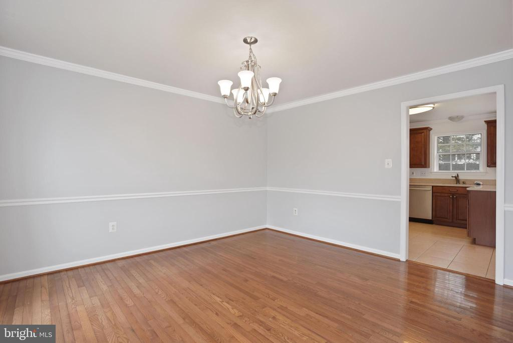 Dining room off kitchen - 1510 MEADOW CHASE DR, HERNDON