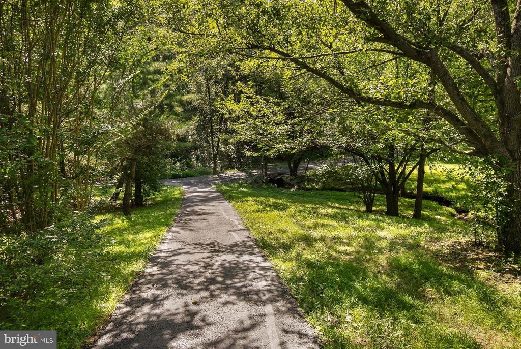 Pathway by Difficult Run Stream - 1510 MEADOW CHASE DR, HERNDON
