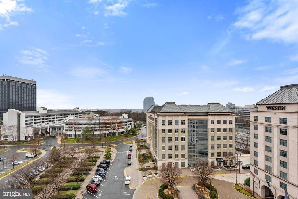 View from the Penthouse - 11760 SUNRISE VALLEY DR #1004, RESTON