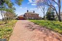 Brick paver driveway - 3903 BELLE RIVE TER, ALEXANDRIA
