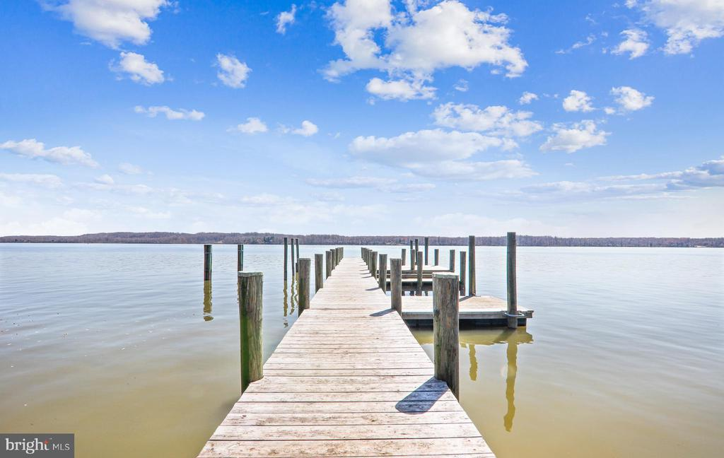 Stunning, expansive views from your private dock - 3903 BELLE RIVE TER, ALEXANDRIA