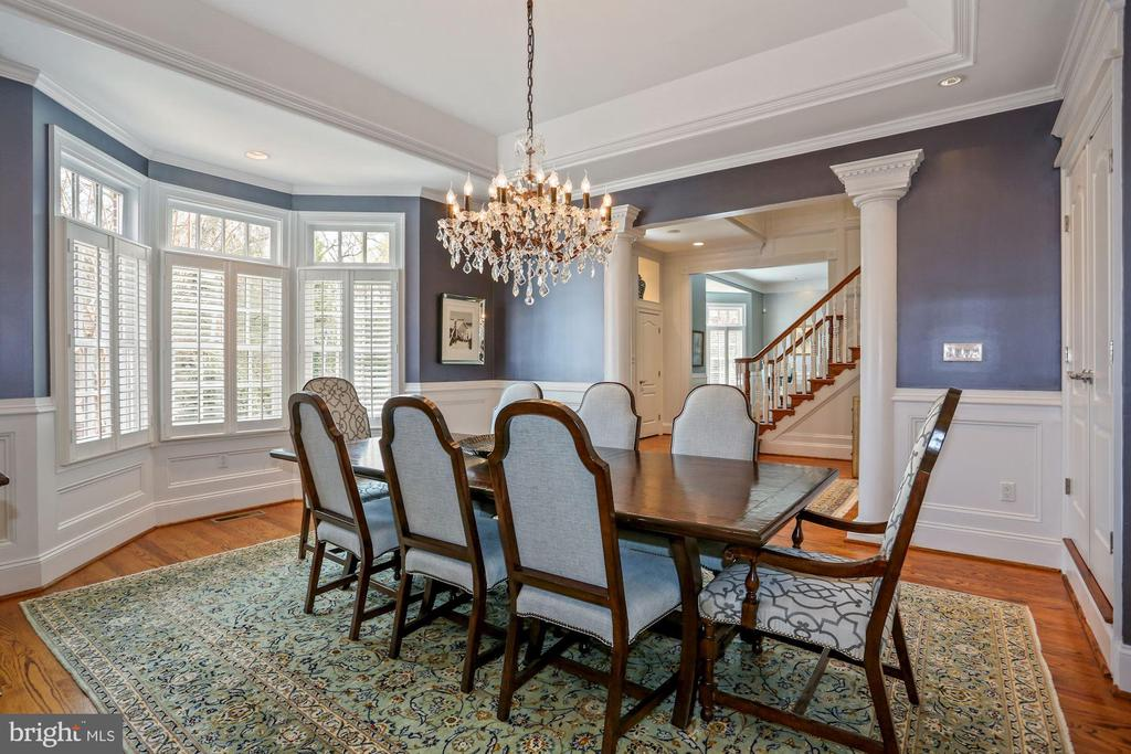 Entertainer's Formal Dining Room - 2424 N EDGEWOOD ST, ARLINGTON