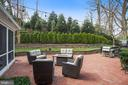 Expansive Terrace with Lush Landscaping - 2424 N EDGEWOOD ST, ARLINGTON