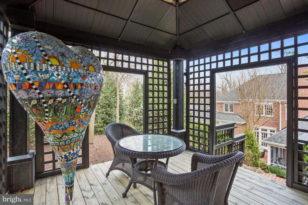 Tranquil Gazebo for Enjoyment - 2424 N EDGEWOOD ST, ARLINGTON