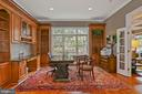 Handsome Private Study with Built-ins - 2424 N EDGEWOOD ST, ARLINGTON