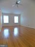 Master Bedroom, high ceiling - 123 GRETNA GREEN CT, ALEXANDRIA