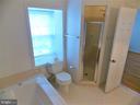 Master Bathroom, separate shower - 123 GRETNA GREEN CT, ALEXANDRIA