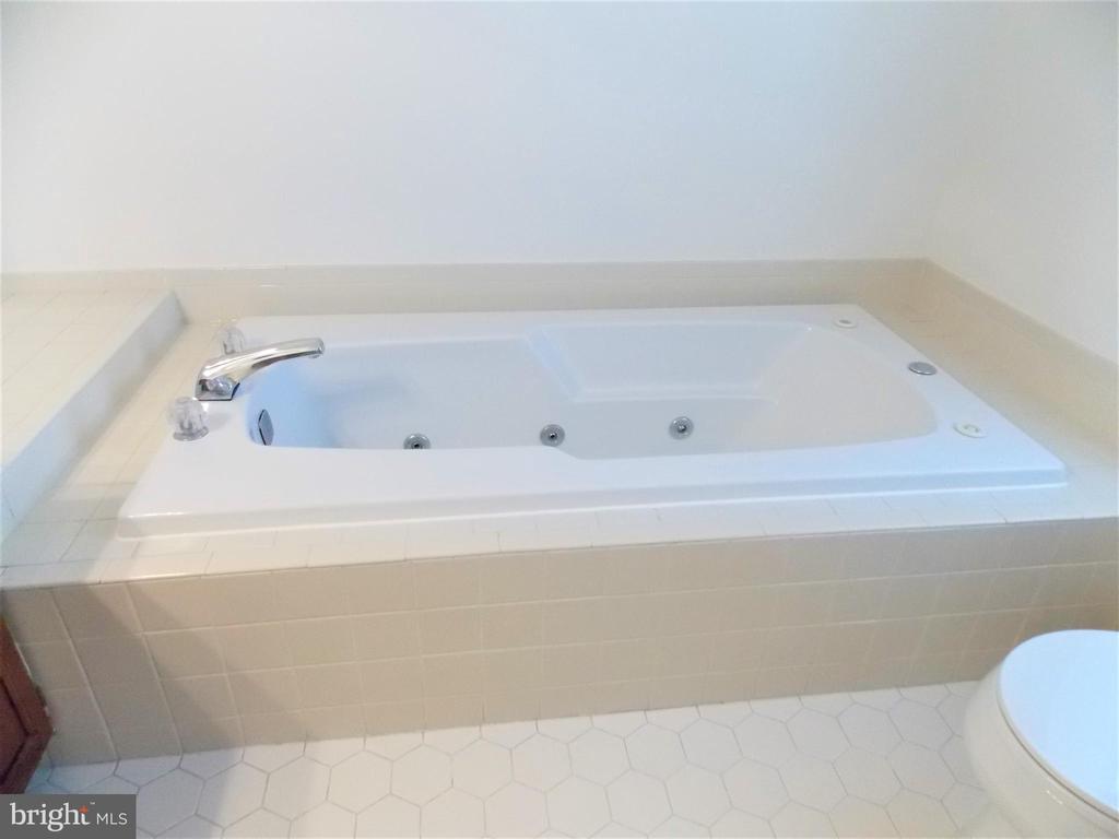 Master Bathroom, Jacuzzi tub - 123 GRETNA GREEN CT, ALEXANDRIA