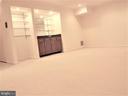 Family Room, with wet bar - 123 GRETNA GREEN CT, ALEXANDRIA