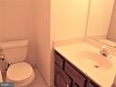 Half Bathroom #2, on lower level - 123 GRETNA GREEN CT, ALEXANDRIA