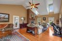 Great Room - Lots of natural light - 5722 WINDSOR GATE LN, FAIRFAX