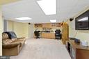Extra work Space in the Basement - 5722 WINDSOR GATE LN, FAIRFAX