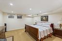 Bedroom in the Basement - 5722 WINDSOR GATE LN, FAIRFAX