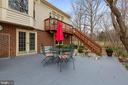 Deck - Leading from the Family Room - 5722 WINDSOR GATE LN, FAIRFAX