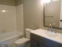 NEW toilet, vanity, faucet, lights, floors - 26 MAPLE AVE, SMITHSBURG