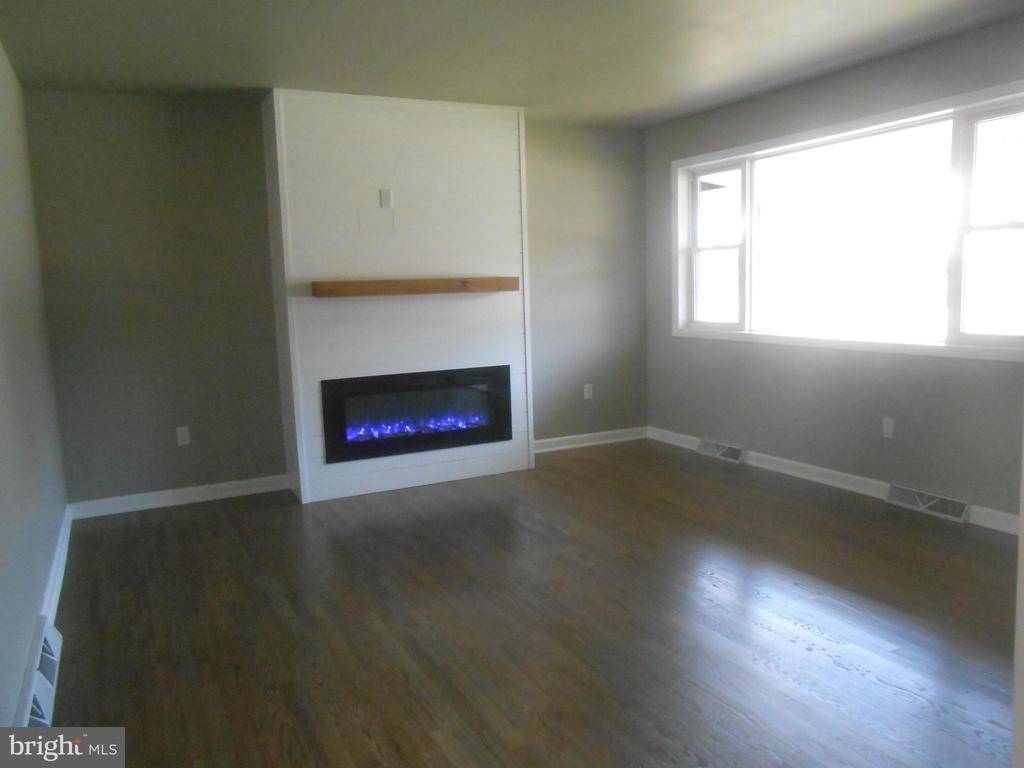 Electric fireplace with 100's of different pattern - 26 MAPLE AVE, SMITHSBURG