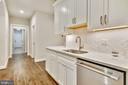 Separate dishwasher and under cabinet lighting - 9524 LEEMAY ST, VIENNA