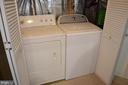 Lower level full-sized laundry - 212 DEERVALLEY DR, FREDERICK