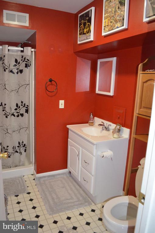 Lower level full bath - 212 DEERVALLEY DR, FREDERICK