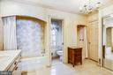 Primary bath has many closets, and so much space - 3903 BELLE RIVE TER, ALEXANDRIA