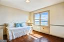 Upper level 3rd bedroom looks out onto the river - 3903 BELLE RIVE TER, ALEXANDRIA