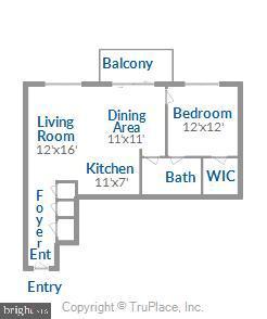 Floor Plan - 157 FLEET ST #413, NATIONAL HARBOR