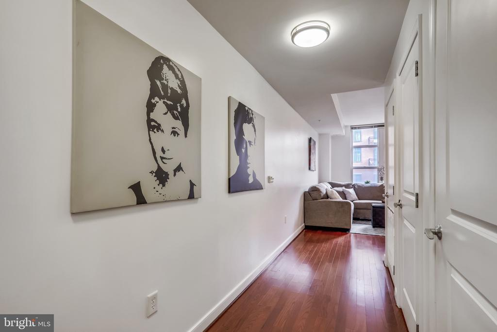 Long Entry Hall for Great Privacy - 157 FLEET ST #413, NATIONAL HARBOR
