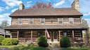 Reclaimed log and stone home - 37670 CHAPPELLE HILL RD, PURCELLVILLE