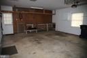 Garage - 8002 LAKE PLEASANT DR, SPRINGFIELD