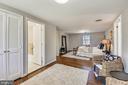 Primary Bedroom/Sitting Area - 4206 MOUNT VERNON MEMORIAL HIGHWAY, ALEXANDRIA