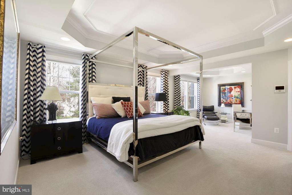 Wow! Fantastic primary bedroom - 10286 GREENSPIRE DR, OAKTON