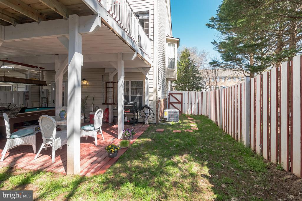 Backyard/Sideyard - 20757 BREEZY POINT TER, STERLING
