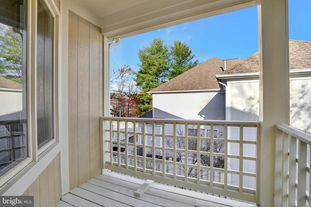 2nd Bedroom Balcony - 47661 PENNRUN WAY, STERLING