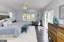 Master bedroom suite - 6802 GLENMONT ST, FALLS CHURCH