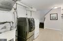 Laundry room - 6802 GLENMONT ST, FALLS CHURCH