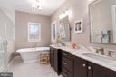 Primary Bathroom with Deep Soak Tub and Shower - 3179 17TH ST N, ARLINGTON