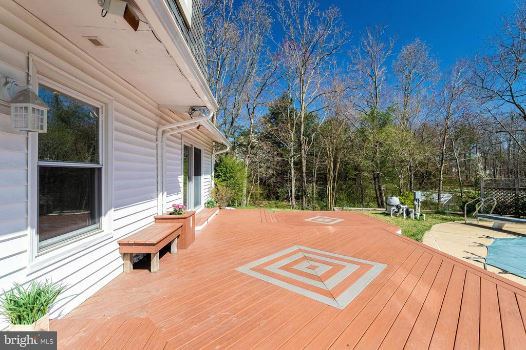 600 SF of Maintenance-Free Deck - 9107 ROOKINGS CT, SPRINGFIELD
