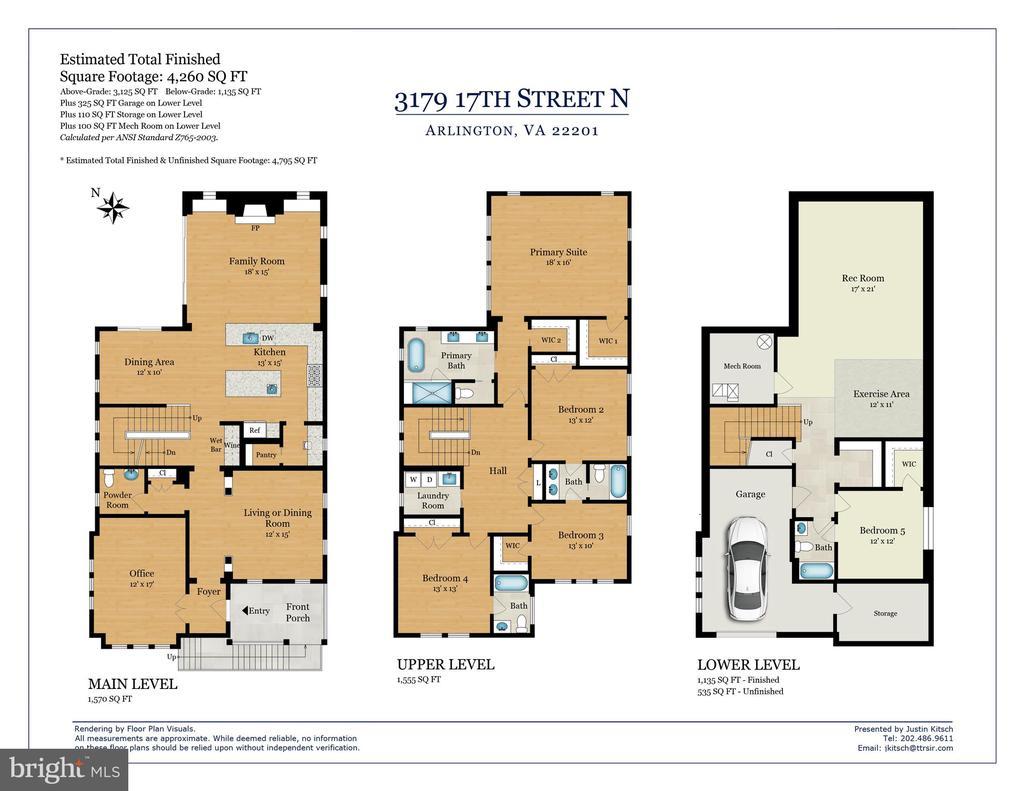 Floorplan - 3179 17TH ST N, ARLINGTON