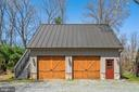 Oversized 2 car detached garage with workshop - 37670 CHAPPELLE HILL RD, PURCELLVILLE