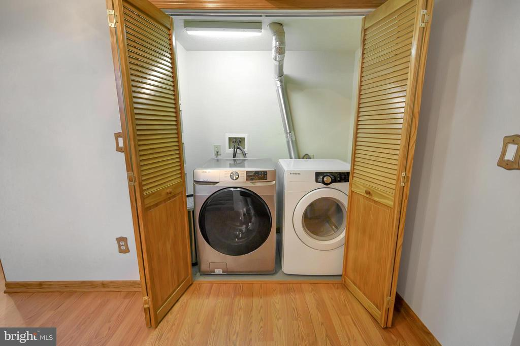 Laundry area in Lower Level - 1106 LAKEVIEW PKWY, LOCUST GROVE
